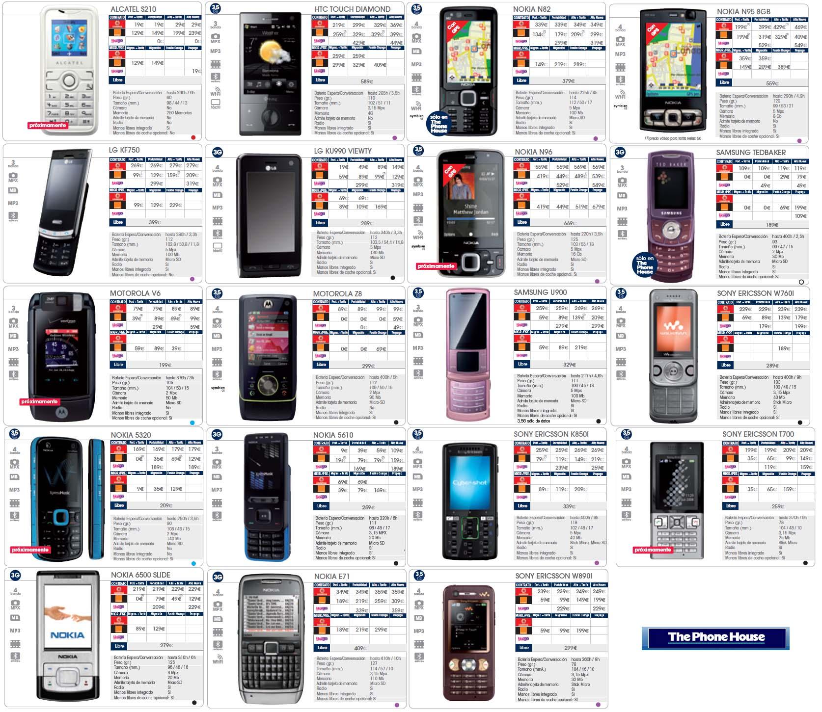 Móviles Yoigo de Octubre en The Phone House - móvilToday