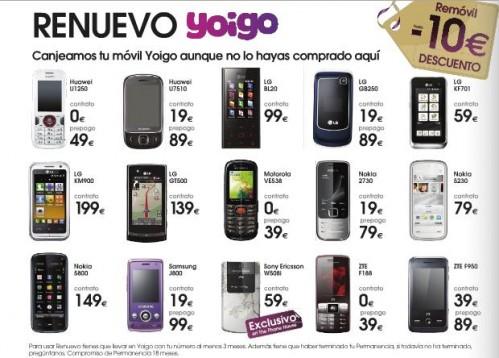 RENUEVO Yoigo en The Phone House - móvilToday