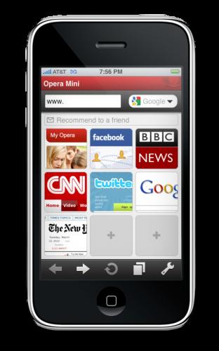 Opera Mini 5 iPhone