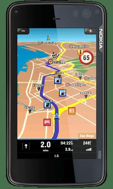 Sygic Nokia N900 Mobile Maps US