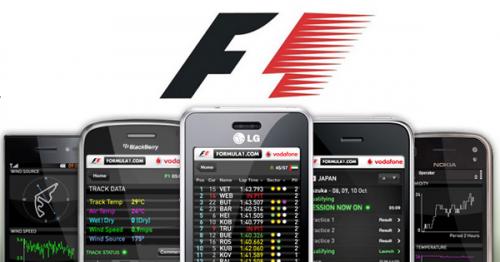 Fórmula 1 en tu móvil