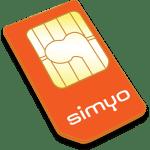Tarjeta SIM simyo