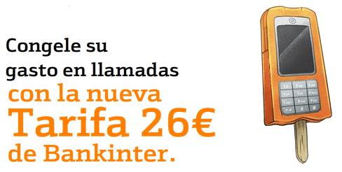 Tarifa 26 Bankinter