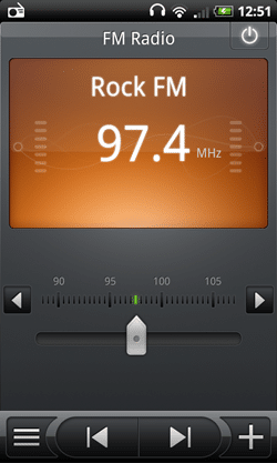 radio FM en Nexus One