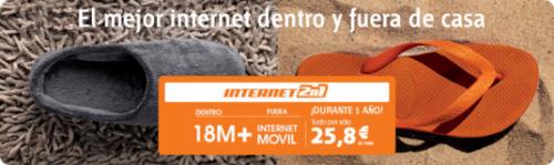 Internet 2n1 de Euskaltel