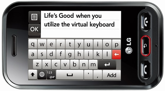 LG Wink 3G T320