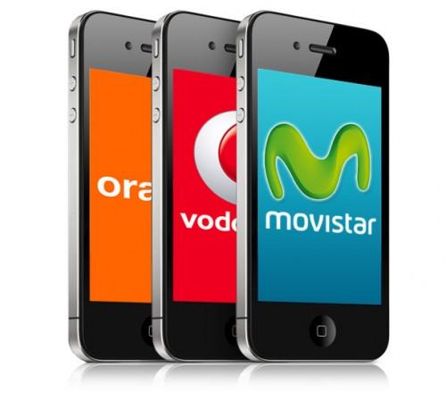 iPhone 4 Movistar, Orange y Vodafone