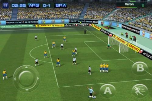 Gameloft ha presentado la nueva edición de Real Football, su