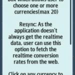 Conversor de divisas para Samsung Wave 3