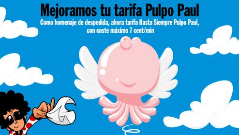 Mejorada Pulpo Paul Pepephone