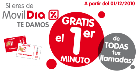 MovilDia minutos gratis