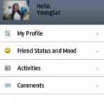 MySpace for bada para Samsung Wave 2