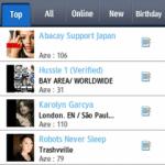 MySpace for bada para Samsung Wave 3