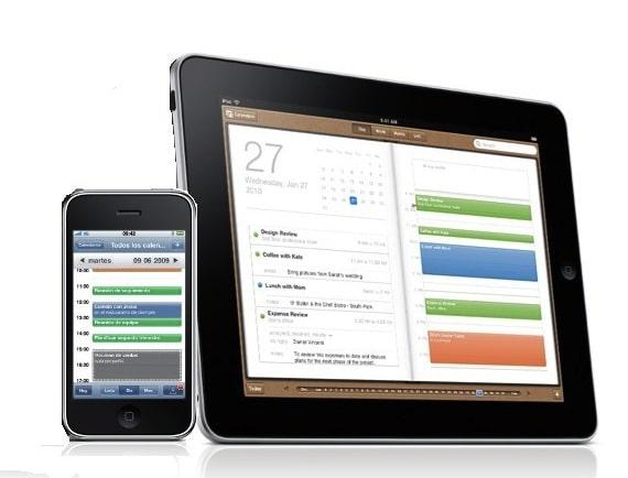 un iphone y un ipad juntos