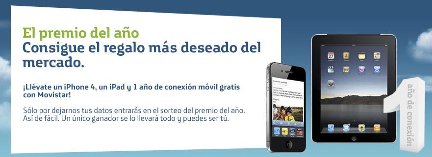 Sorteo iPhone 4 e iPad Movistar