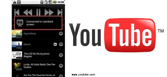 YouTube remote para Android