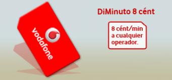 Diminuto 8 Vodafone