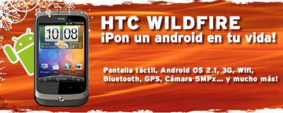 HTC Wildfire simyo