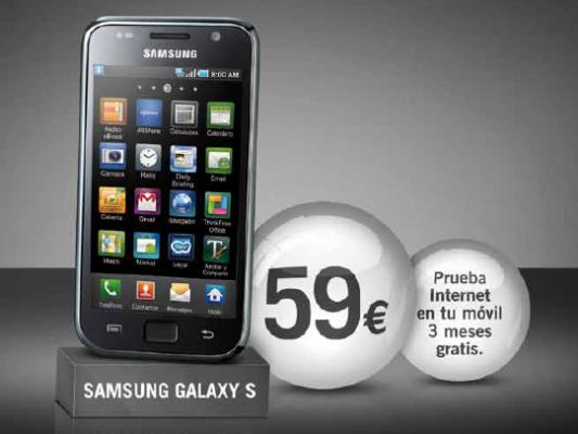 Samsung Galaxy S Yoigo