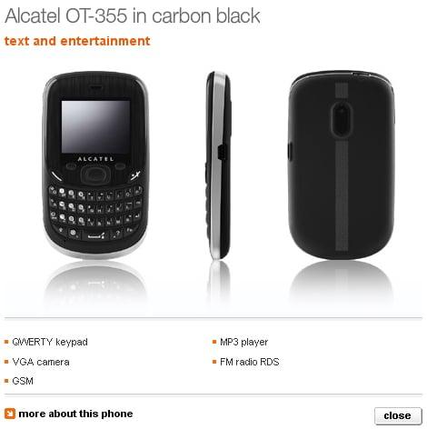 Alcatel OT 355