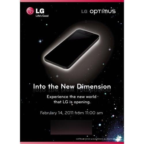 LG Optimus 3D MWC