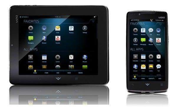 vizio tablet móvil Android