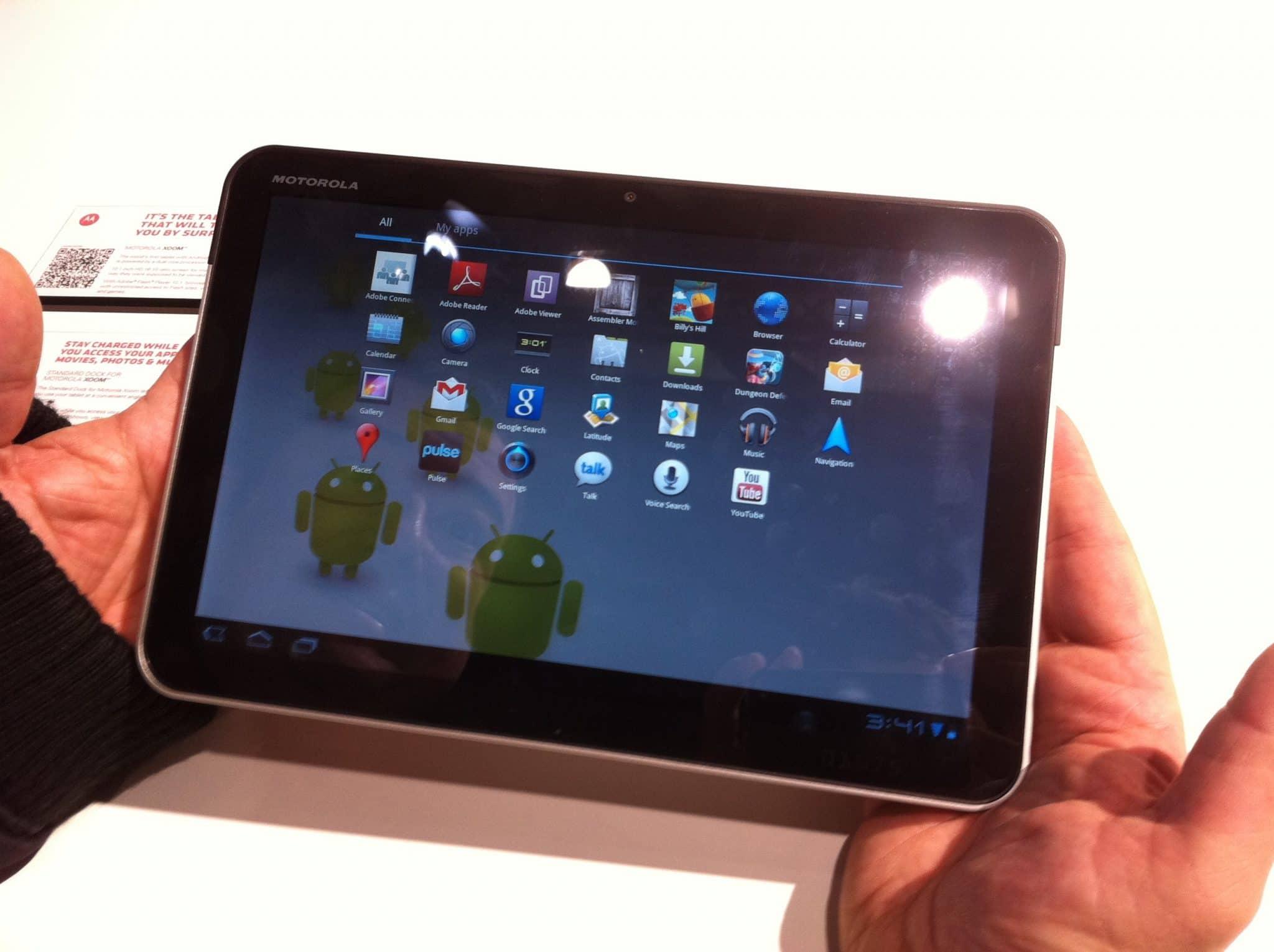 Motorola XOOM en vivo