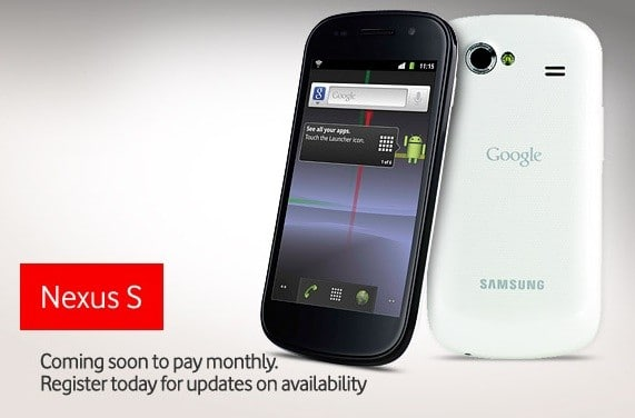 Nexus S Vodafone