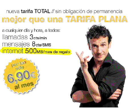 TARIFA TOTAL MÁSmovil