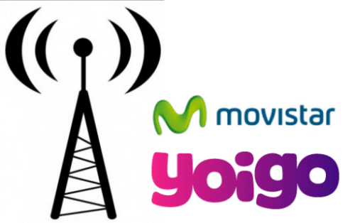 Yoigo itinerancia Movistar