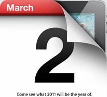 iPad 2 presentación