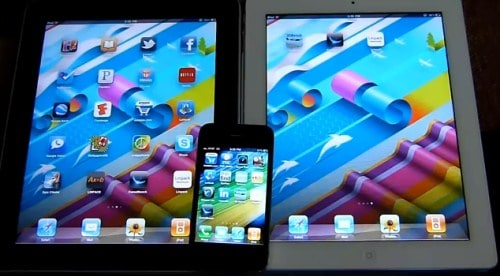 Apple iPad 2 iPad y iPhone 4