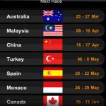 F1 Timing 2011 - 13