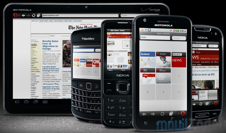 Opera Mini и Opera Mobile - Загрузить: Nokia 5250. скачать mini opera.