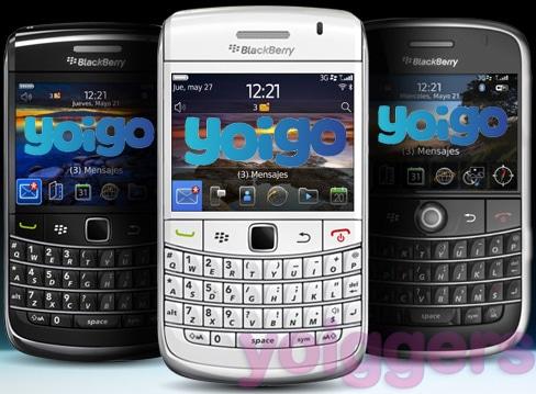 BlackBerry en Yoigo