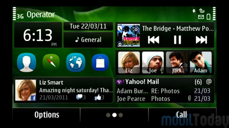 Symbian Anna OS features and pics.