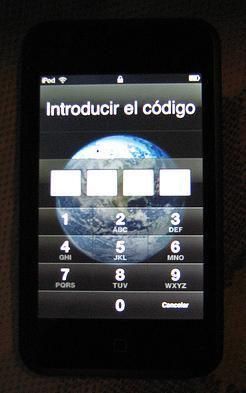 contraseña iPhone