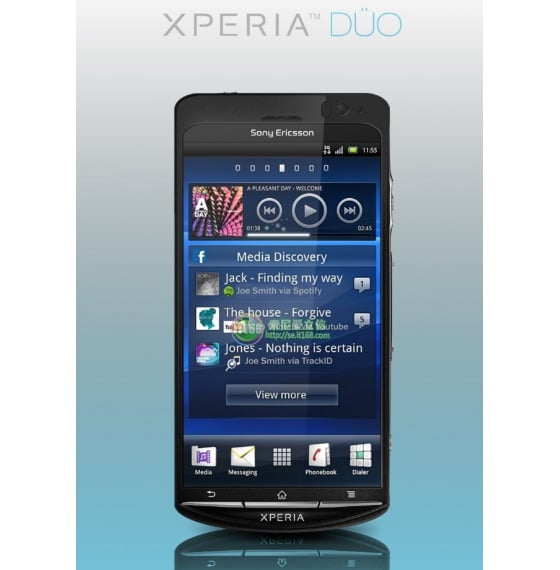 Sony Ericsson Xperia Duo Android