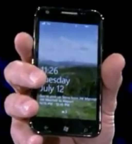 Windows Phone Mango Samsung