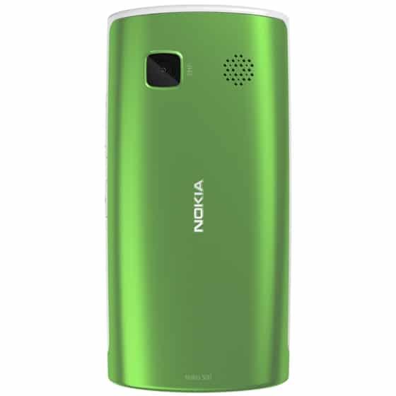 Nokia 500 trasera