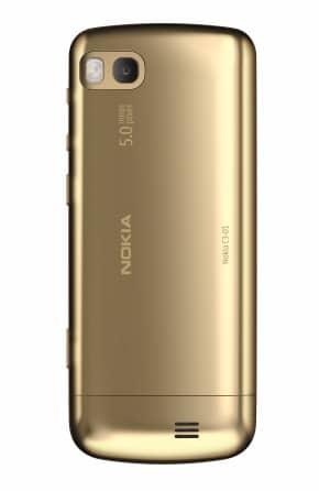 Nokia C3-01 trasera