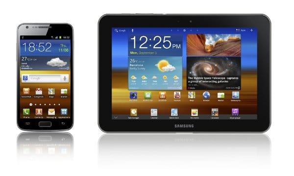 Samsung Galaxy S 2 LTE y Galaxy Tab 8.9 LTE