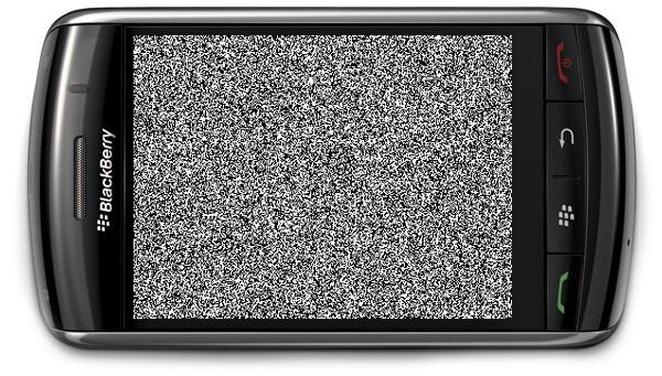 BlackBerry fallo