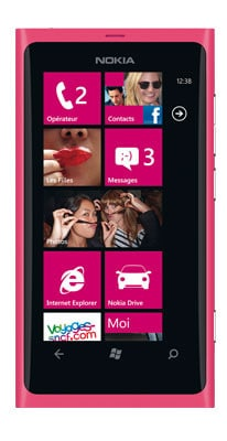 Nokia Lumia 800 rosa