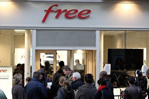 Free móvil Francia