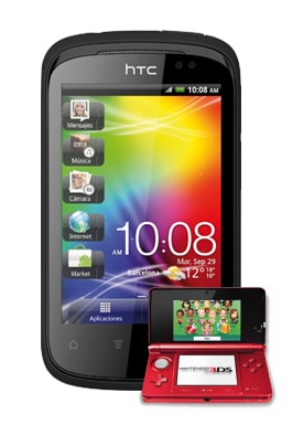 HTC Explorer Nintendo 3DS