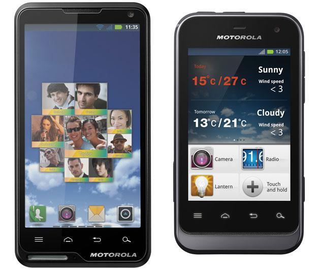 Motorola Deluxe Motorola Defy Mini