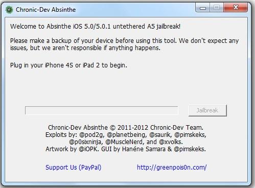 jailbreak iPhone 4S iPad 2