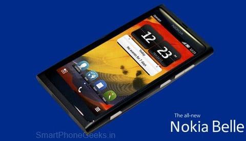 Nokia 801 Belle