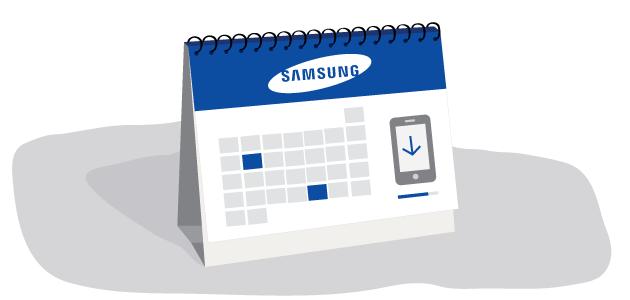 Samsung calendario de actualizaciones